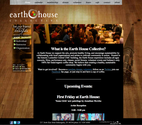 Earth House's Old Site!