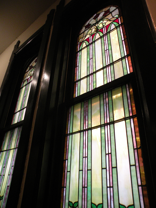 Stained Glass at Earth House